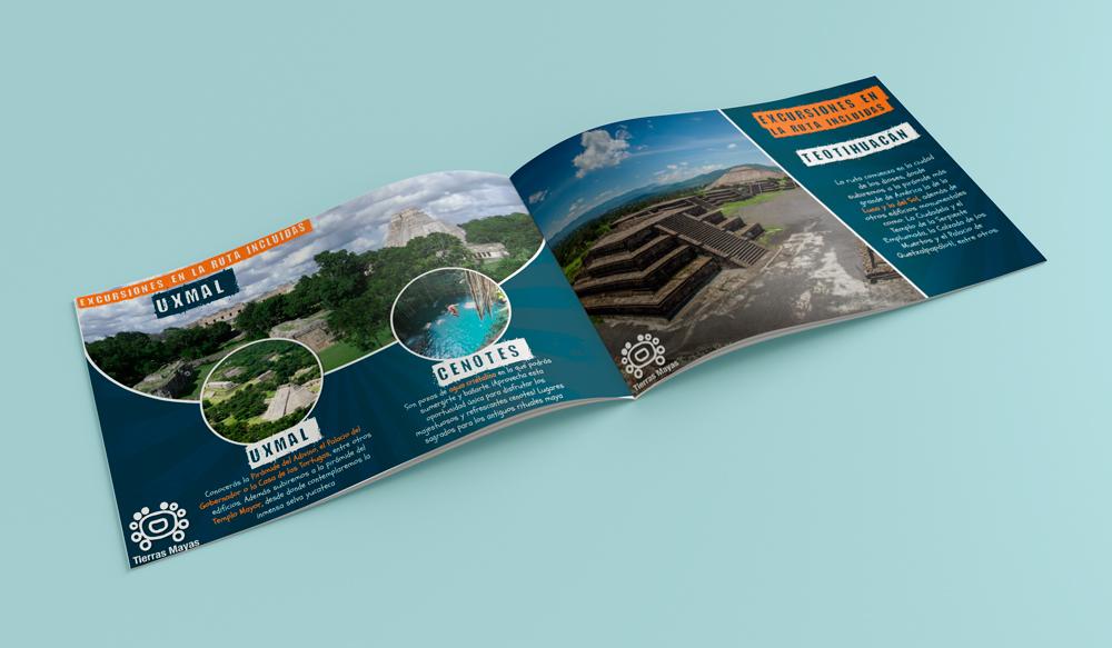 Mock up catalogo viajes