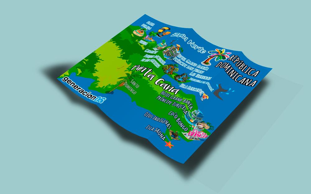 Mock up Mapa República Dominicana