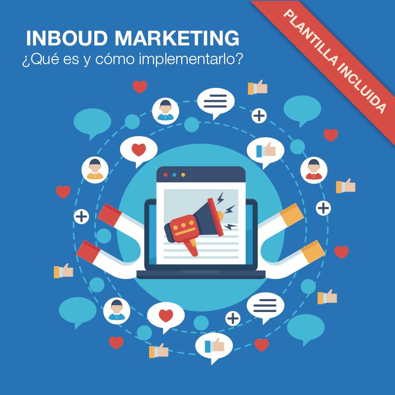Inboud Marketing con plantilla gratuita para medir los resultados