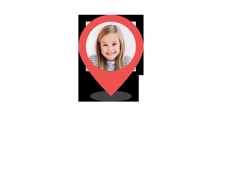 Localización niños
