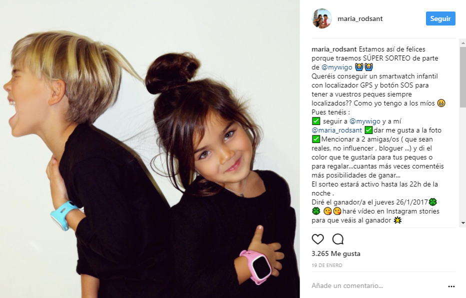 Instagram smartwatch kids