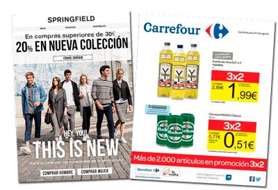 Ejemplo Precio no lineal - Carrefour y moda